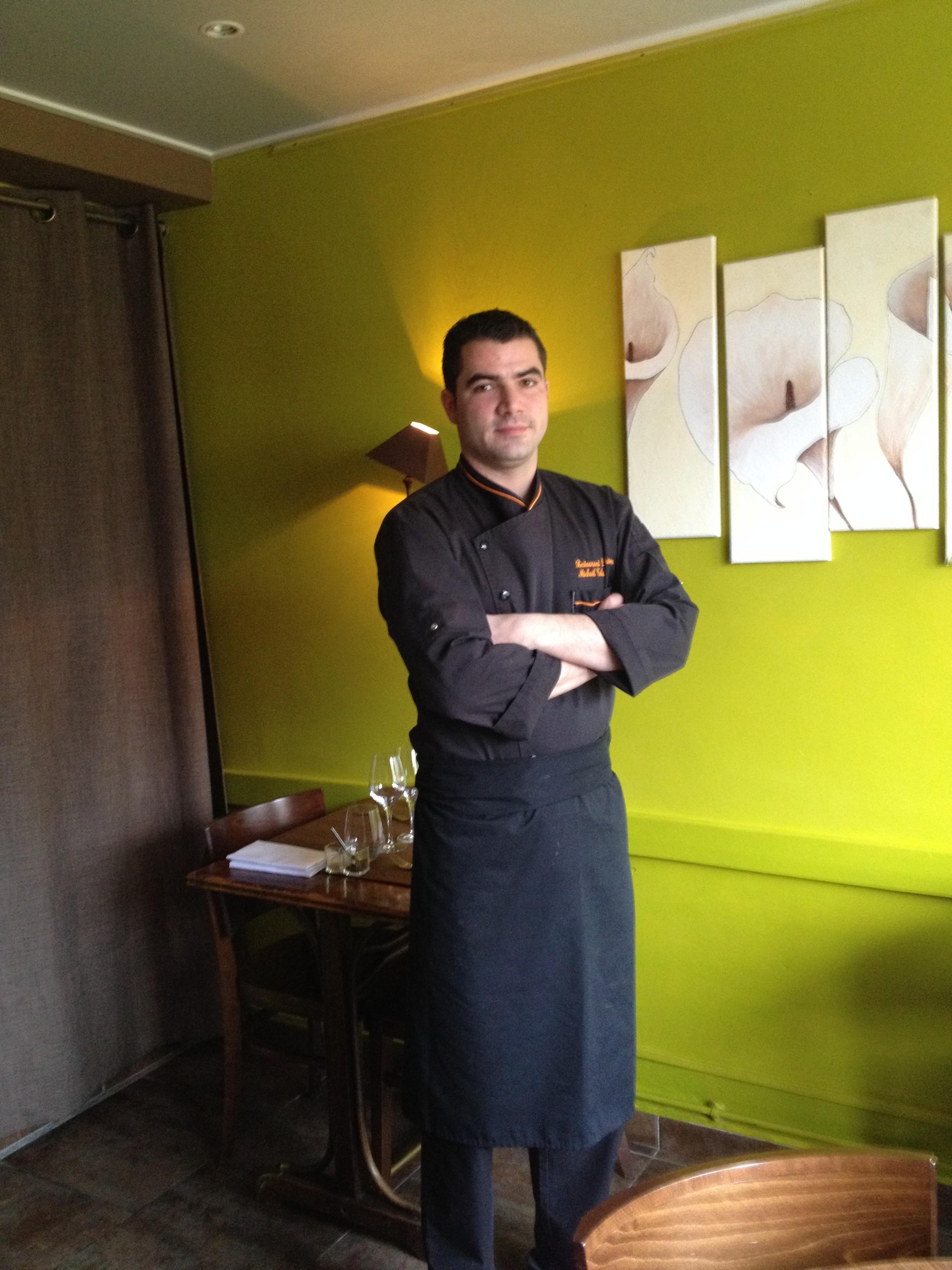 Notre chef Mickaël TELUK